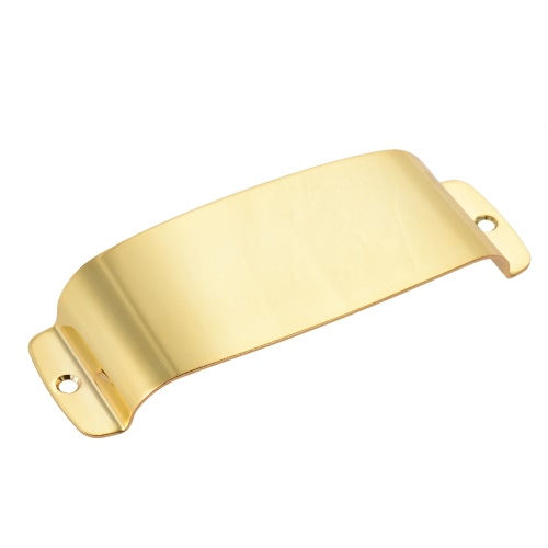 Steel Pickup Cover Protector for 4-string Jazz Bass Electric Bass Guitar Part Replacement Gold