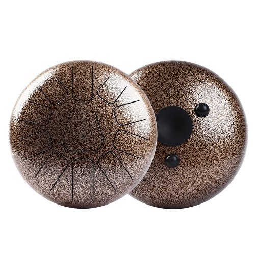 10 Inch Steel Tongue Drum Handpan Drum Hand Drum