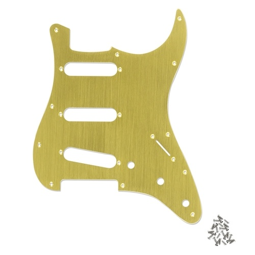 SSS 11-Hole Electric Guitar Strat Pickguard Backplate Cavity Cover