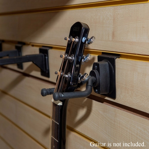 Adjustable Wall-Mount Guitar Hanger Guitar Display Stand for Classical / Folk / Electric Guitar Bass