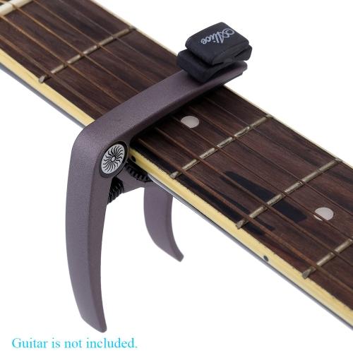 音響用ピック ホルダーとエレク トリック ギター バンジョー マンドリン ギターの部品とアリスのギター ・ カーポ亜鉛合金
