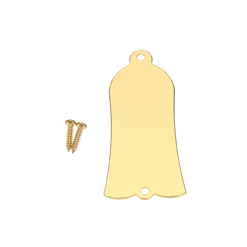 Golden Plated Truss Rod Cover Plate for Gibson LP SG 2 Holes with Screws