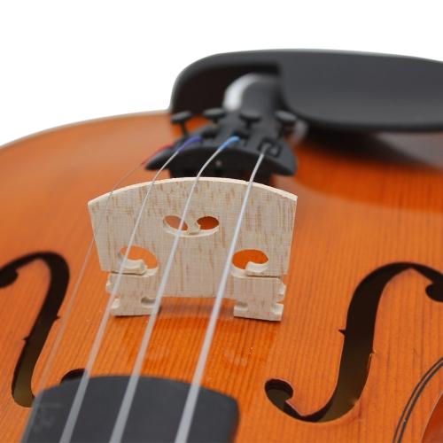 Andoer®  Violino Ponte Maple 30mm Altezza 3mm di Spessore Esecuzione Squisita