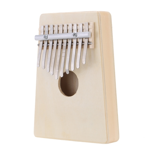 10 Key Mbira Finger Thumb Music Piano Hollow Pine Education Toy Musical Instrument for Music Lover and   Beginner
