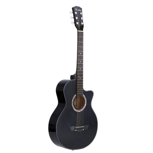 """38 """"Acoustic Folk 6-Strunowa Gitara dla początkujących studentów Prezent"""