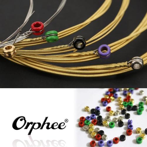 Orphee TX640 6pcs chitarra acustica Folk String Set (012-.053) bronzo fosforoso media tensione