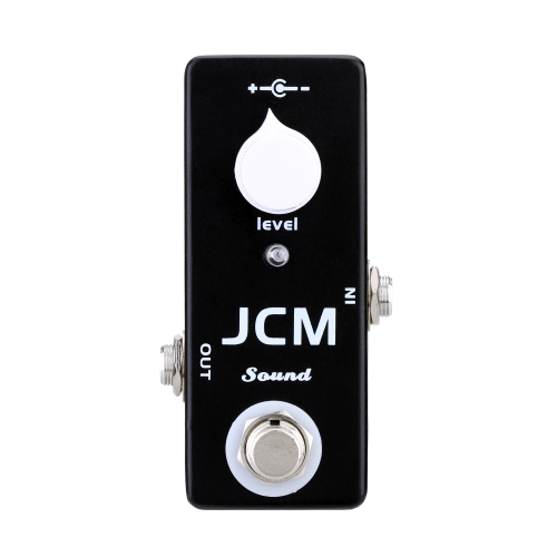 JCM Sound Electric Guitar Effect Pedal Mini Single Effect with Clean Boost True Bypass