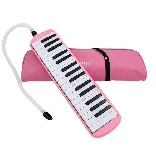 32 Tasten eines Klaviers Melodica Musical Instrument Musik Liebhaber Anfänger Geschenk mit Tragetasche