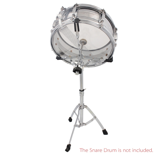 Professional Snare & Dumb Drum Stand Rack Multiple Triangle Bracket Braced Chrome Metal Percussion Gear Support
