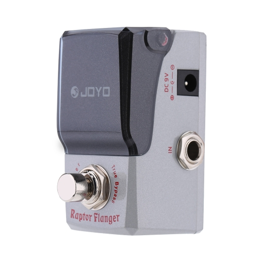 JOYO JF-327 Raptor Flanger Mini Electric Guitar Effect Pedal with Knob Guard True Bypass