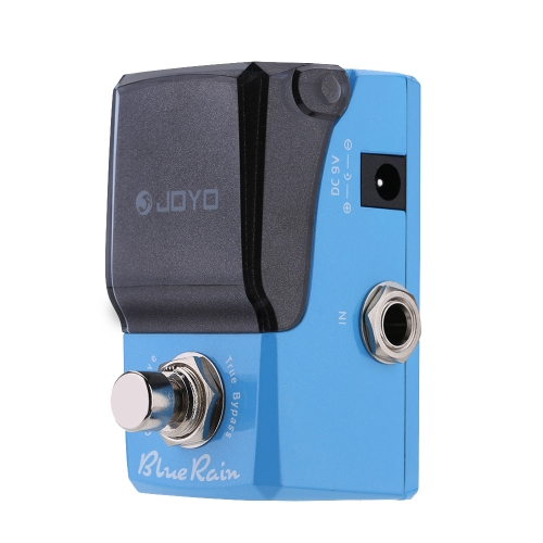 JOYO JF-311 Blue Rain Overdrive Mini Electric Guitar Effect Pedal with Knob Guard True Bypass