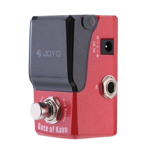 JOYO JF-324 Gate of Kahn Noise Gate Mini Electric Bass Guitar Effect Pedal with Knob Guard Reduce Extra Noise