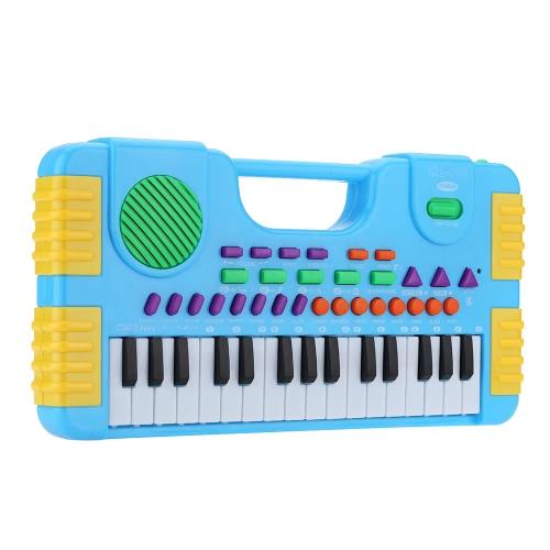 31 Tasti Multifunzionale Mini Tastiera Elettronica Giocattolo di Musica Pianoforte Elettronico Educativo e Carino Regalo per i Bambini e i Principianti