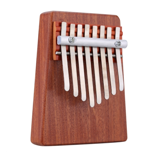 8 Key Mbira Finger Thumb Music Piano Solid Rosewood Education Toy Musical Instrument for Music Lover and Beginner