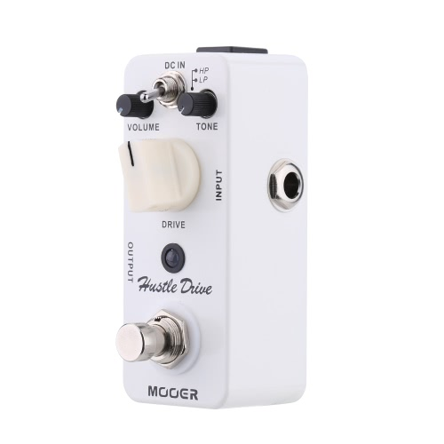 Mooer Hustle Drive Micro Mini Distortion Electric Guitar Effect Pedal True Bypass