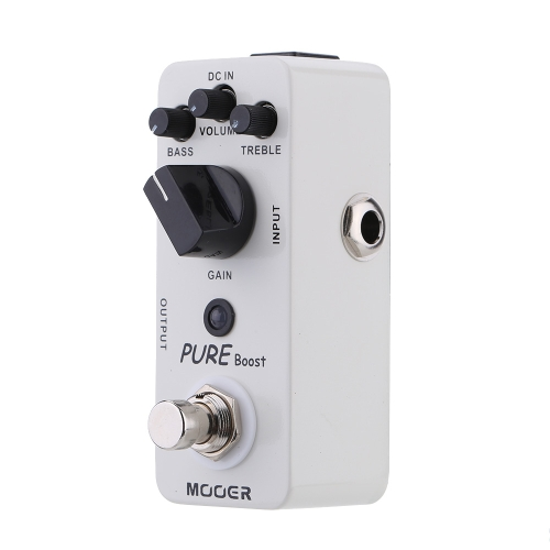 Mooer Pure Boost Micro Mini Boost Effect Pedal for Electric Guitar True Bypass I1470