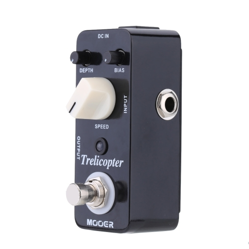 Mooer Trelicopter Micro Mini Optical Tremolo Effect Pedal for Electric Guitar True Bypass