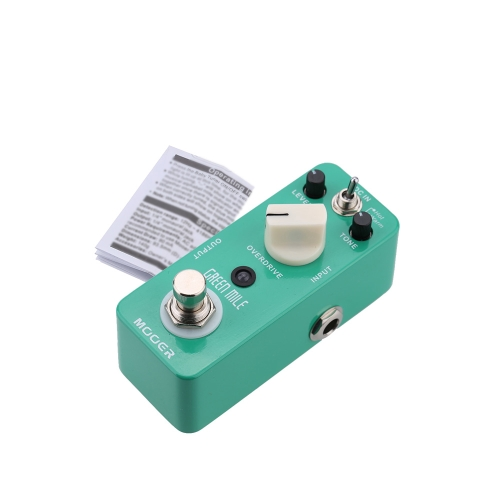 Mooer Green Mile Micro Mini Overdrive Electric Guitar Effect Pedal True Bypass I1475