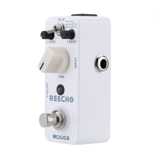 Mooer Reecho Micro Mini Digital Delay Effect Pedal for Electric Guitar True Bypass I1479