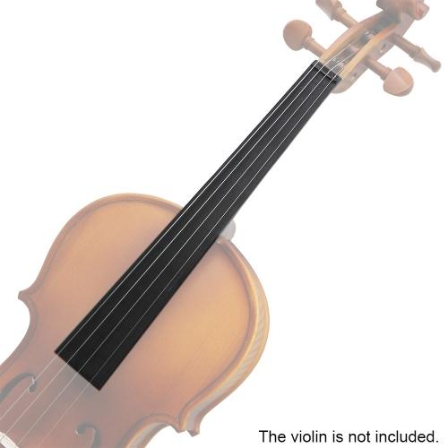 1/8 Size Violin Ebony Solid Wood Fingerboard