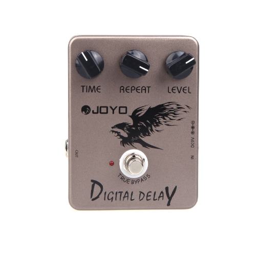 Joyo JF-08 Guitar Digital Delay effetto pedale True Bypass