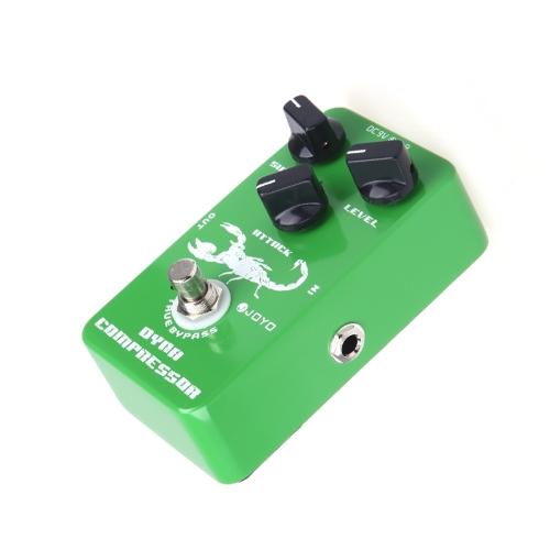 Joyo JF-10 Dynamiczna Kompresor gitarowy pedał efektów True Bypass