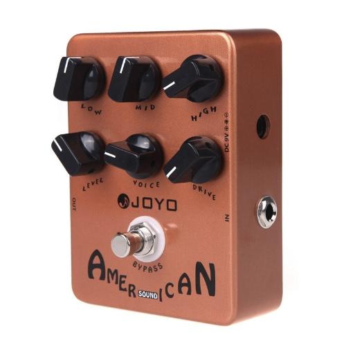 Pedal de efeito JOYO JF-14 americano som guitarra Amp Simulator