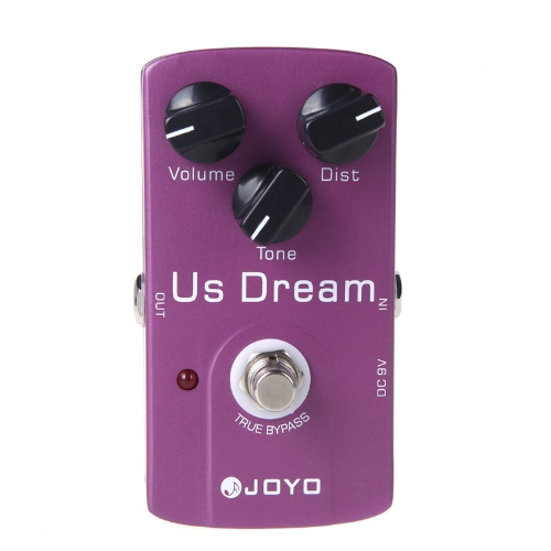 JOYO JF-34 US Dream Distortion Guitar Effect Pedal True Bypass