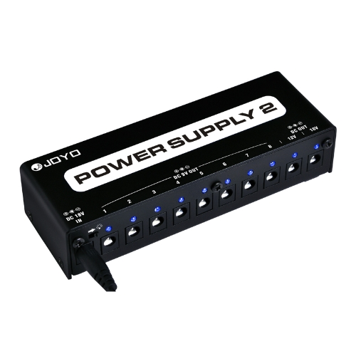 JOYO JP-02 Power Supply Isolated Output for 9V 12V 18V Guitar Effect