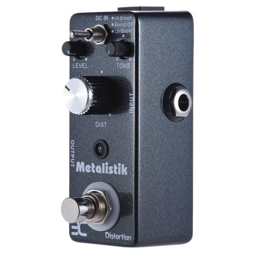 ENO TC-11 Distortion Guitar Effect Pedal Metal Ture Bypass Metalistik