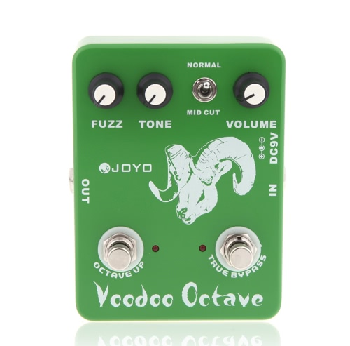 JOYO JF-12 Voodoo Octave Fuzz Effetto chitarra pedale di effetto True Bypass