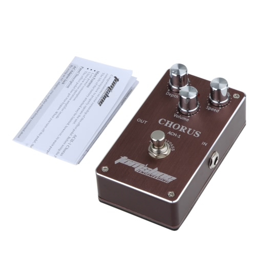 Aroma ACH-1 Guitar Electric Effect Pedal Chorus Low Noise True Bypass