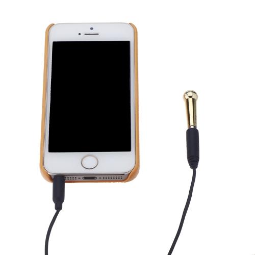 Joyo ho-MIC Mini condensatore microfono microfono chitarra pick-up per iPhone Samsung iOS/Android/Windows sistema