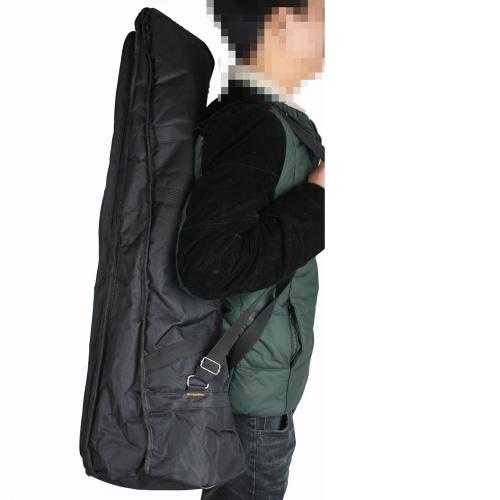 600D gepolstertes wasserdicht Posaune Gig Bag Oxford Tuch Rucksack verstellbare Schulterträger Pocket 5 mm Baumwolle für Alto/Tenor-Posaune