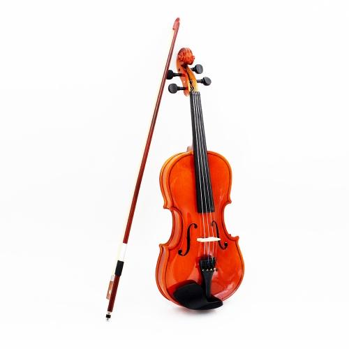 1/2バイオリンフィドルバスウッドスチールストリングアーバーボウストリング付き楽器