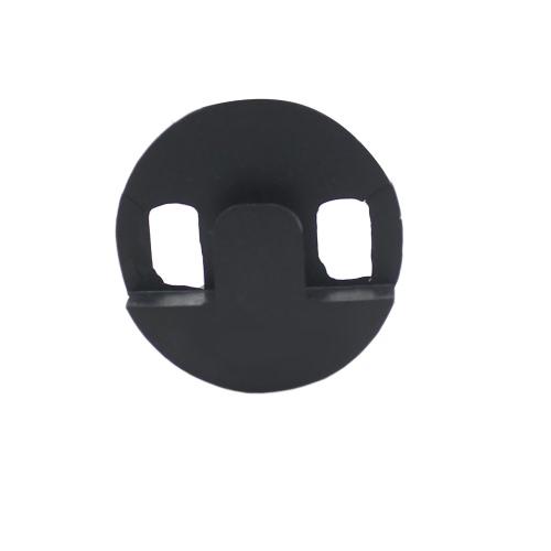 Andoer® Silenziatore Mute violoncello circolare in gomma tondo leggero nero