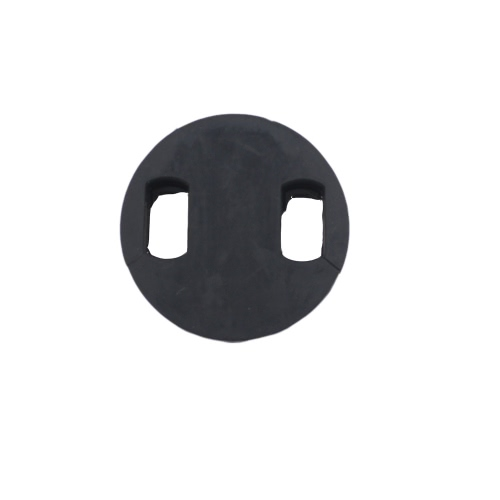 Cello Mute Silencer Circular Round Rubber Light-weight Black