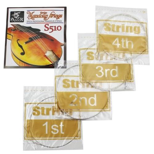 Stringa di seconda mano Spock S510 4pcs strumento musicale a corda squisito in acciaio inossidabile