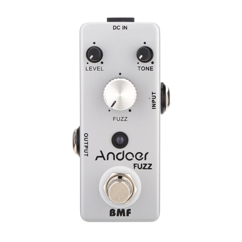 Andoer TC-18 Fuzz Guitar Effect Pedal True Bypass