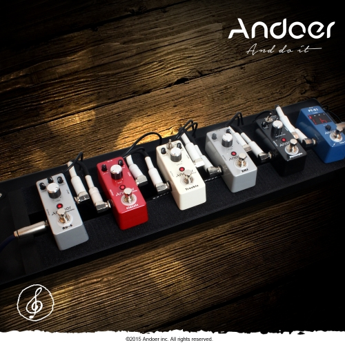 Andoer®  AD-6 Analog Delay Chitarra Effetti a pedale True Bypass