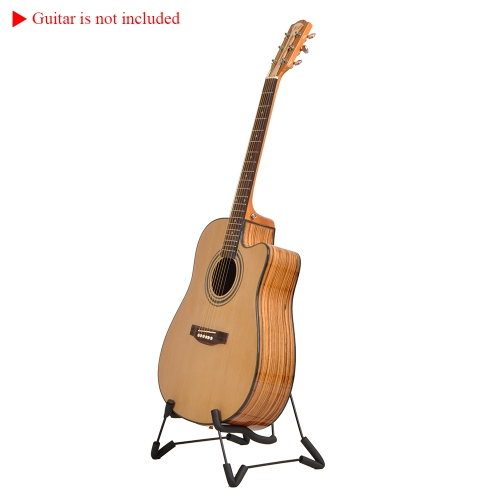 A-Frame Guitar Stand Portable Folding for Acoustic Electronic Folk Classical Guitars