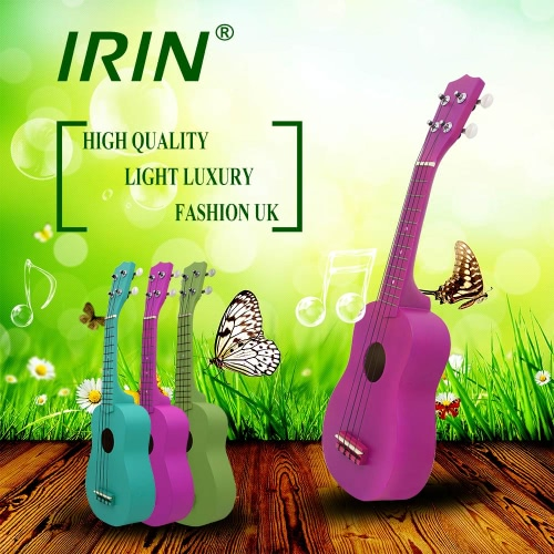 "21"" Mini Ukelele Basswood Stringed Kids Musical Instrument 4 Strings Gift with Carrying Bag"