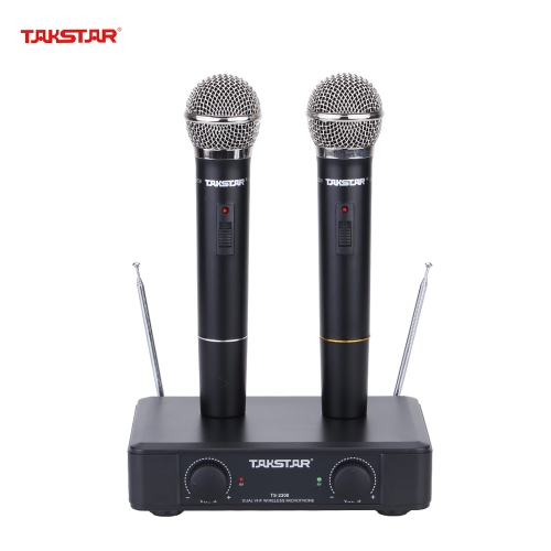 Takstar Wireless Condenser Microphone Mic Transmitter with Receiver 6.35mm 1/4