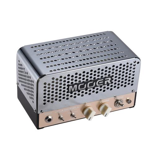 MOOER LITTLE MONSTER AC Mini 5W All-tube Guitar Amp Amplifier Head ECC83(12AX7) EL84(6BQ5) for 8Ω/ 16Ω Speaker with Carry Bag