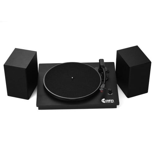 VINYL MUSIC ON VMO-014 Classic Vinyl Record Player Turntable