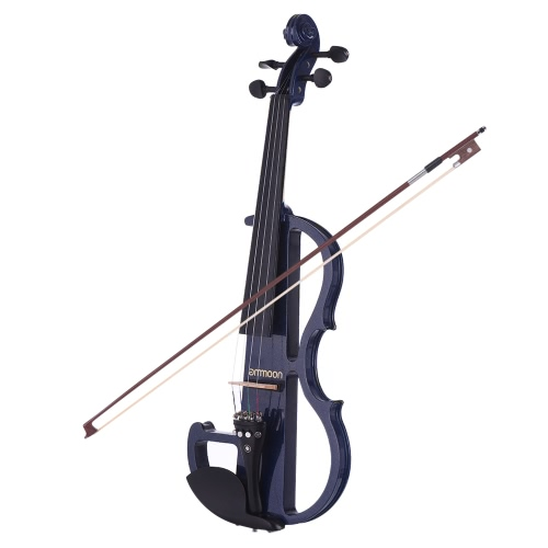 ампулы Полный размер 4/4 Solid Wood Electric Тихая скрипка