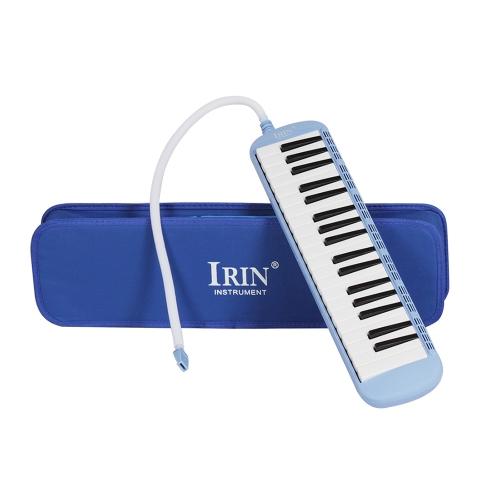 37ピアノ鍵メロディカピアニカ学生のためのキャリングケース付き音楽教育用具初心者キッズ音楽恋人ギフト