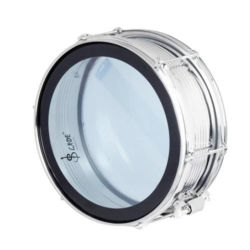 """Bild von 14 """"Snare Drum Kit Edelstahl Drum Körper PVC Drum Kopf mit Drum Bag Strap Drumsticks Drumstick Tasche Drum Damper Gel Pads"""
