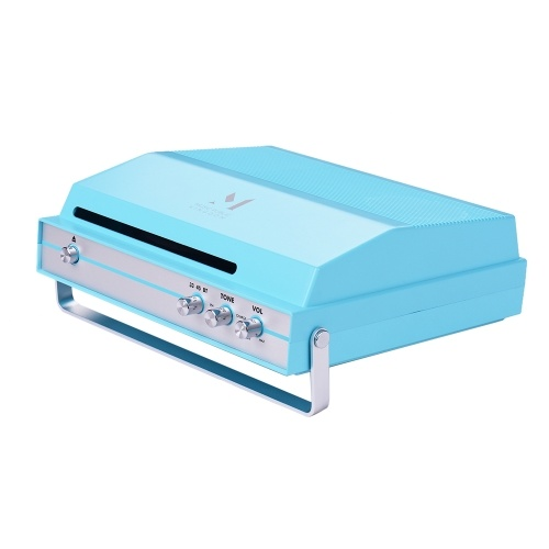 Batería recargable portátil con reproductor de discos con control de volumen de tono