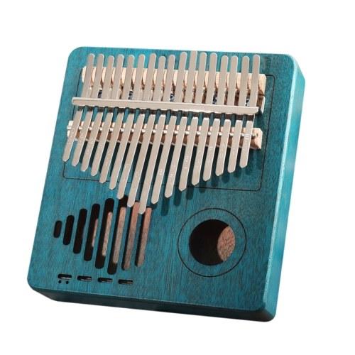 Strumento musicale portatile Kalimba con 17 tasti in legno Kalimba africano
